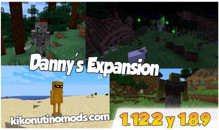 【 Danny's Expansion MOD 】para Minecraft 1.16.4 y 1.16.3