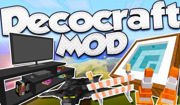 【Decocraft MOD】para Minecraft 1.12.2, 1.11.2 y 1.10.2 [2020]