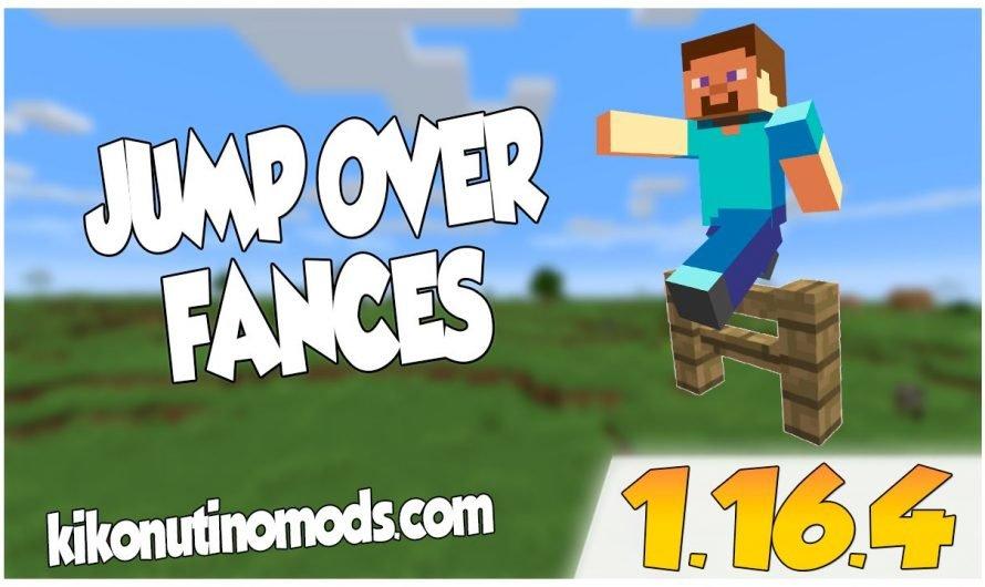 【 Jump Over Fences MOD 】para Minecraft 1.16.4, 1.16.3, 1.16.2, 1.16.1 y 1.15.2