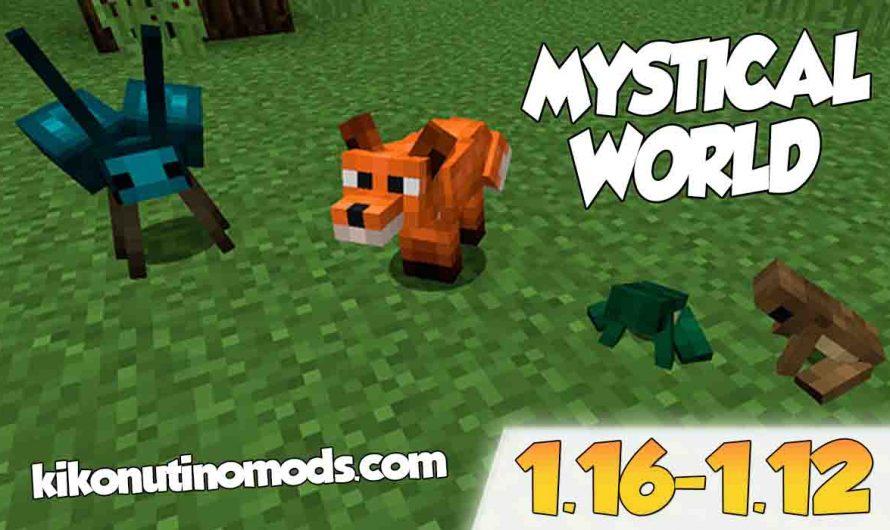 【Mystical World MOD】para Minecraft 1.16.4, 1.15.2, 1.14.4 y 1.12.2