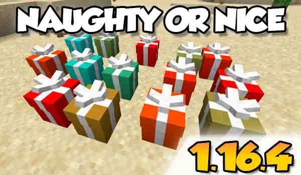 【Naughty or Nice MOD】para Minecraft 1.16.4