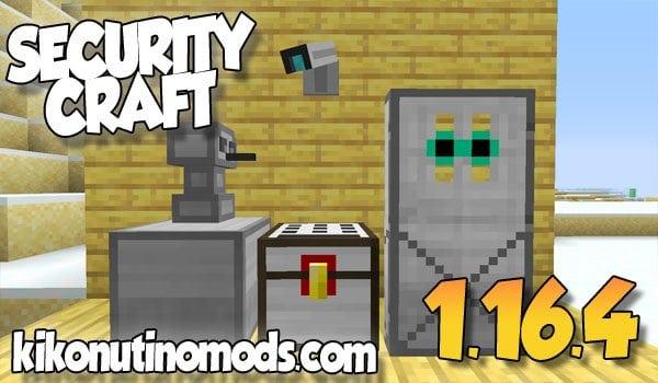 【 Security Craft MOD 】para Minecraft 1.16.5 y 1.16.4