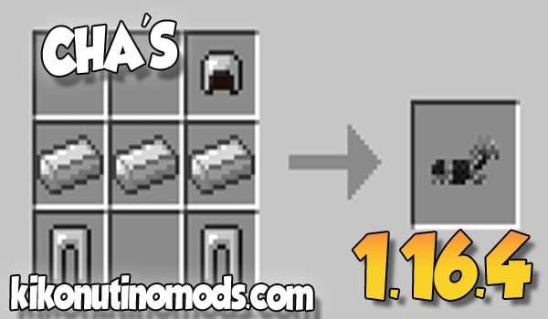 【 CHA'S MOD 】para Minecraft 1.16.4 y 1.16.3