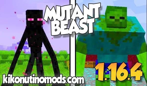 【 Mutant Beasts MOD 】para Minecraft 1.16.4 y 1.16.3