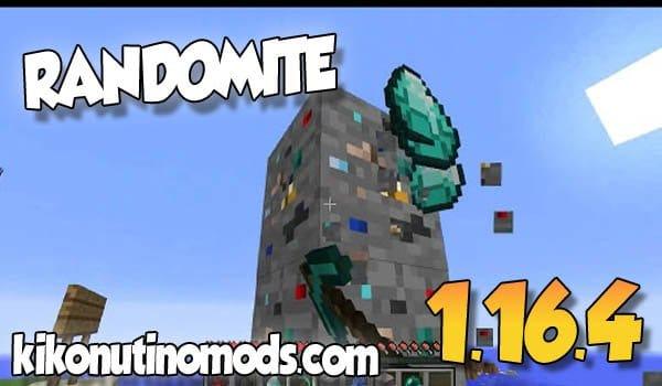 【Randomite Classic MOD】para Minecraft 1.16.4 y 1.16.3