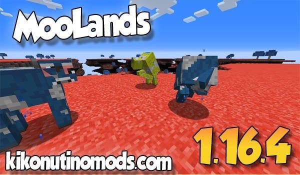 【 Moolands MOD 】para Minecraft 1.16.4 y 1.16.3