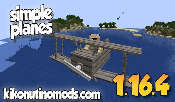 【Simple Planes MOD】 para Minecraft 1.16.4 y 1.16.3