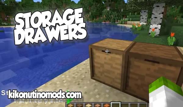 【 Storage Drawers MOD 】para Minecraft 1.16.4, 1.15.2 y 1.12.2