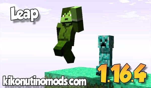 【 Leap MOD 】para Minecraft 1.16.4 y 1.16.3