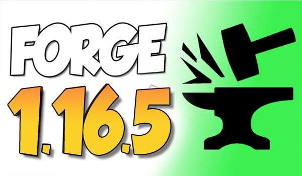 【 Forge 1.16.5 】para Minecraft