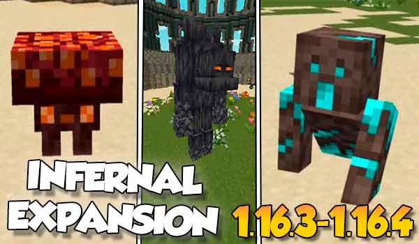 【Infernal Expansion MOD】para Minecraft 1.16.5, 1.16.4 1.16.3