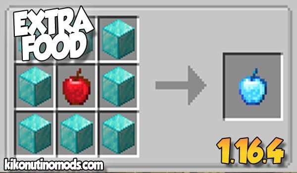 【Extra Foods MOD】 para Minecraft 1.16.4 y 1.16.5