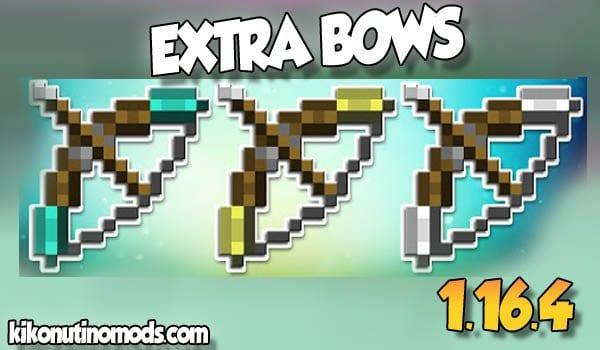 【Extra Bows MOD】 para Minecraft 1.16.4 y 1.16.5