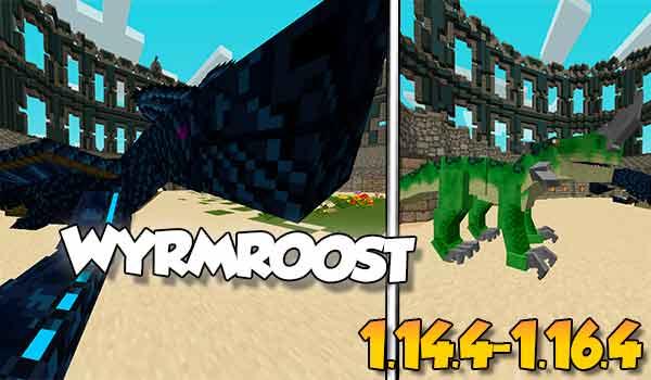 【Wyrmroost MOD】para Minecraft 1.16.5, 1.16.4…
