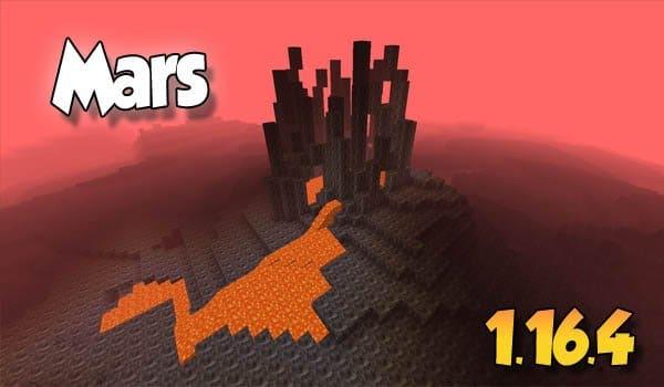 【Mars MOD】 para Minecraft 1.16.4