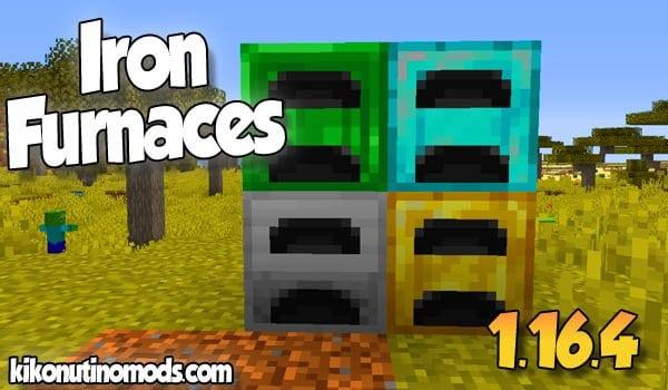 【Iron Furnaces MOD】 para Minecraft 1.16.4