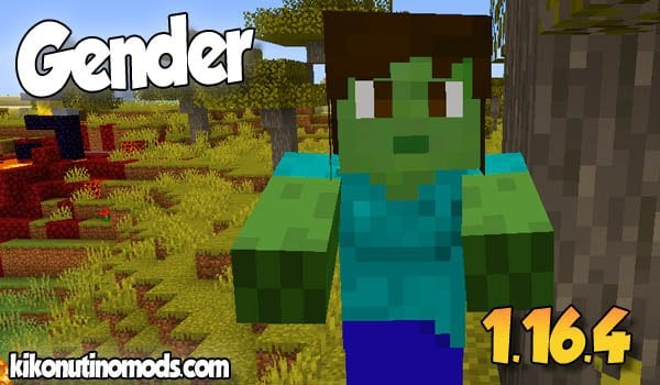 【Gender MOD】 para Minecraft 1.16.4