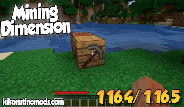 【Mining Dimension MOD】 para Minecraft 1.16.5 y 1.16.4