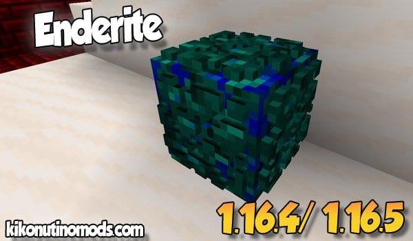 【Enderite MOD】 para Minecraft 1.16.5 y 1.16.4