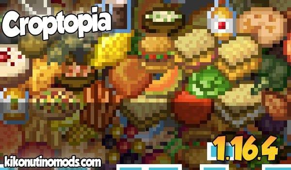 【Croptopia MOD】 para Minecraft 1.16.4 y 1.16.5