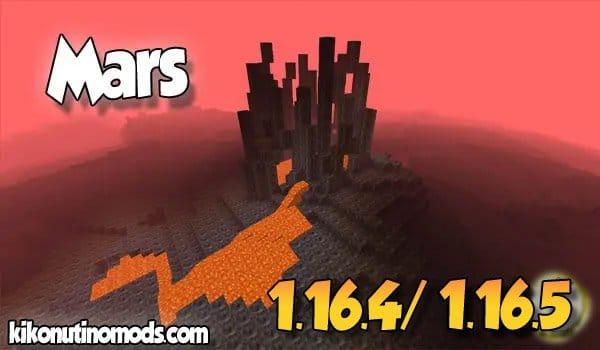 【Mars MOD】 para Minecraft 1.16.5 y 1.16.4