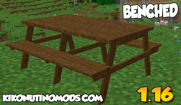 【Benched MOD】 para Minecraft 1.16.5 y 1.16.4