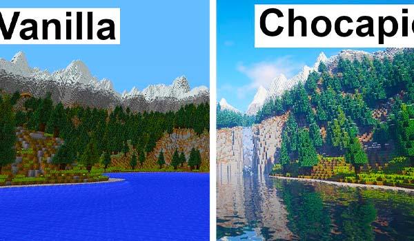 Descargar Chocapic Shaders 1.16.5 Minecraft