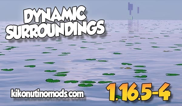 Dynamic Surroundings MOD para Minecraft 1.16.5 y 1.16.4