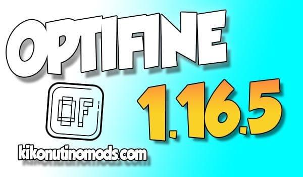 Optifine para Minecraft 1.16.5
