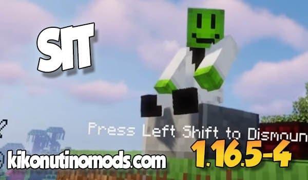 Sit MOD para Minecraft 1.16.5 y 1.16.4