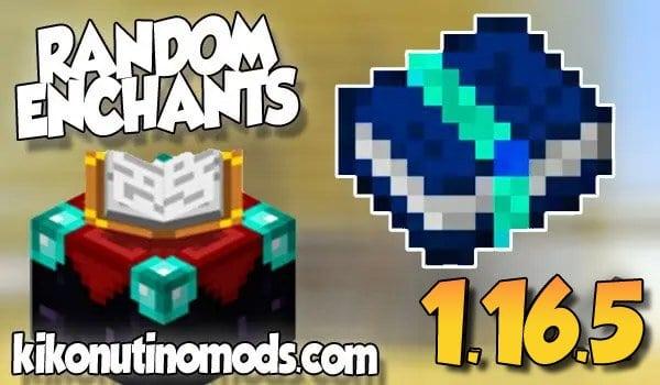 【Random Enchants  MOD】para Minecraft 1.16.5 y 1.16.4