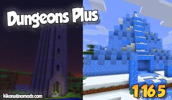 【Dungeons Plus MOD】 para Minecraft 1.16.5 y 1.16.4