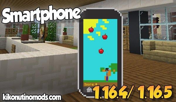【Smartphone MOD】 para Minecraft 1.16.5 y 1.16.4