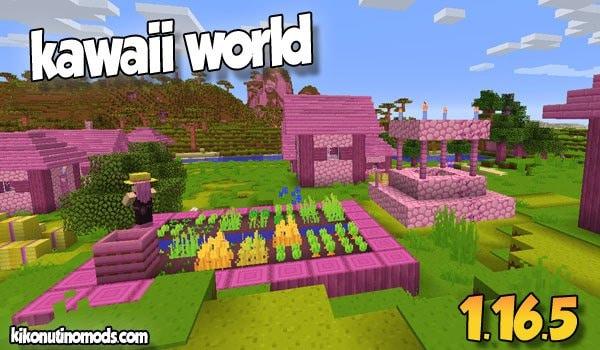 Kawaii World Pack de Texturas 16×16 para Minecraft 【1.16.5】