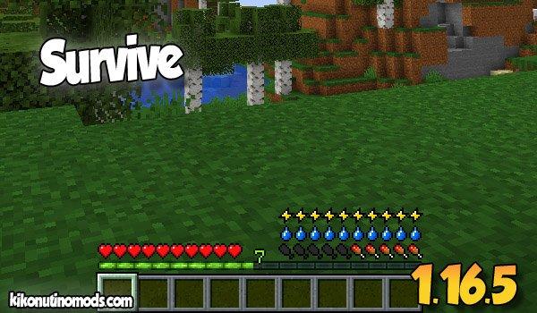 【Survive MOD】 para Minecraft 1.16.5 y 1.16.4