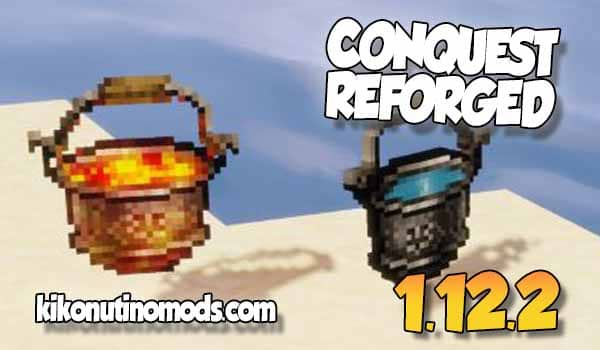 Conquest Reforged MOD para Minecraft 1.12.2