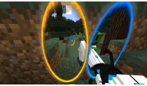 Portal Gun portales Funcionando