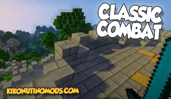 Classic Combat Mod para Minecraft 1.16.5 y 1.12.2