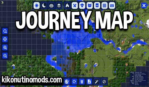 JourneyMap Mod para Minecraft 1.16.5, 1.16.4, 1.15.2, 1.14.4 y 1.12.2