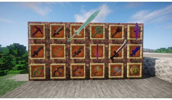 Skyrim-Craft-mod-minecraft-armas