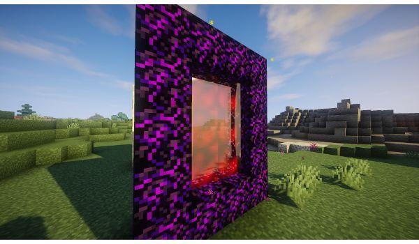 Skyrim-Craft-mod-minecraft-portal-infierno