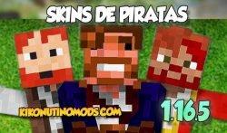 Diferentes Skins piratas para Minecraft