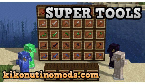SuperTools-mod-minecraft-1-16-5-descargar-gratis-en-español