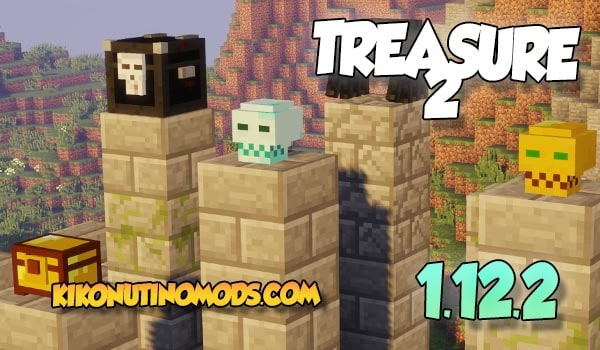Treasure 2 Mod Minecraft