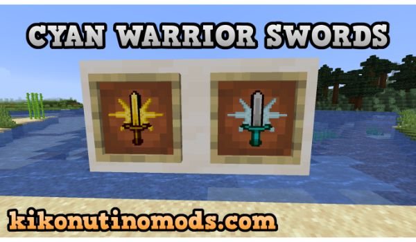 Cyan-Warrior-Swords-mod-1-16-5-descargar-gratis-en-español