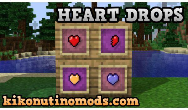 Heart-Drops-mod-minecraft-1-12-2-descargar-gratis-en-español