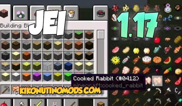 Descargar el Mod Just Enough Items 1.17 para Minecraft