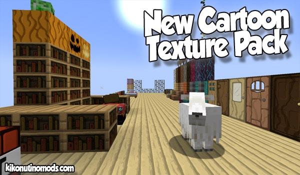 New Cartoon texture Pack