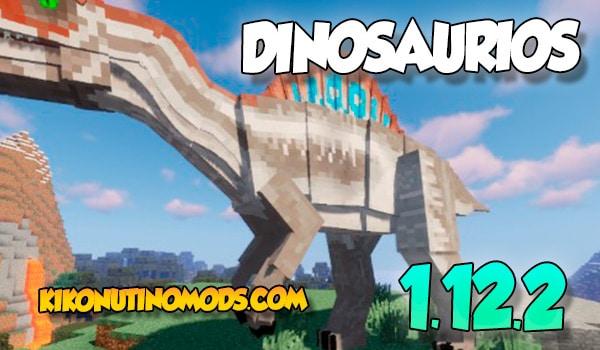 Pack de Mods de Dinosaurios para minecraft