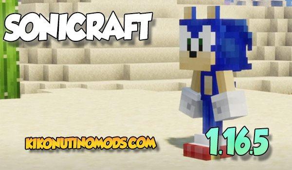 SoniCraft Mod para Minecraft